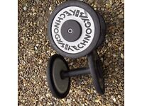 *Reduced* 2 Technogym weights