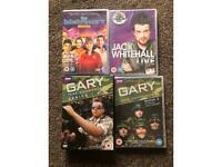 Gary tank commander, inbetweeners, Jack Whitehall FREE DVDS