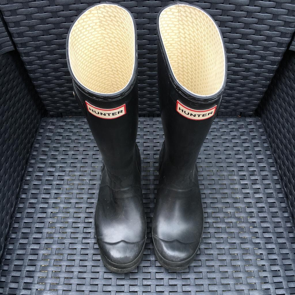 *Kids Hunter Wellies - Open to Offers as Need to be Sold*