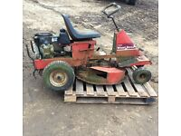 Wheel horse ride on mower for spares
