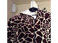 Next 2013 fleece giraffe onesie