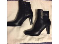 Russell & Bromley black Ruby Dry boots size 3