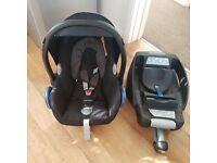 Maxi cosi isofix and car seat