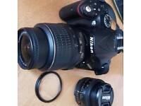 Nikon 5200 DSLR Camera