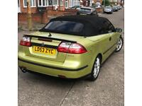 Saab 9-3 Aero 2.0 Turbo Convertible- Open To Offers