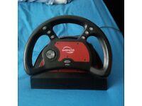 Playstation 1 steering wheel