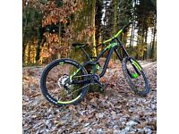 NS FUZZ 2016 Downhill Bike