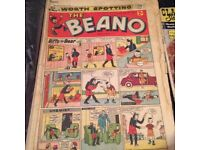 I have a bundle of old comics 54 ed beano and dandy and other ones