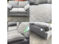 **SOLD**M&S grey 2 seater Nantucket ex display sofa