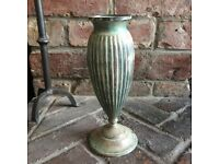 Verdigris Vase