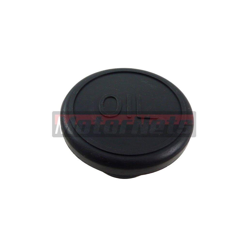 Finned Aluminum Push-In Oil Cap Valve Cover Push In 1.25 Sbc Bbc