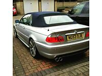 BMW 318 CONVERTIBLE M SPORTS FULL LEATHER 19 INCH ALLOYS