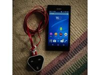 SONY XPERIA M2, 8GB, EXCELLENT CONDITION, NO SCRATCHES OR CRACKS. BLACK, EE SIM CARD WITH CREDIT