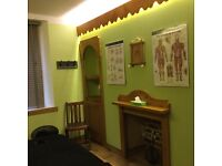 City centre therapy studio available to rent