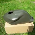Yamaha TZR Tank tankcover leger groen TZR50 Cafe racer naked