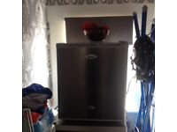 small counter top freezer with lock