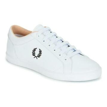 Fred Perry BASELINE LEATHER Wit sneakers