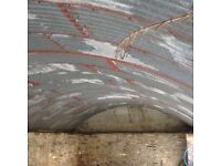 Galvanised roofing 60 sheets, buyer to dismantle - offers £?