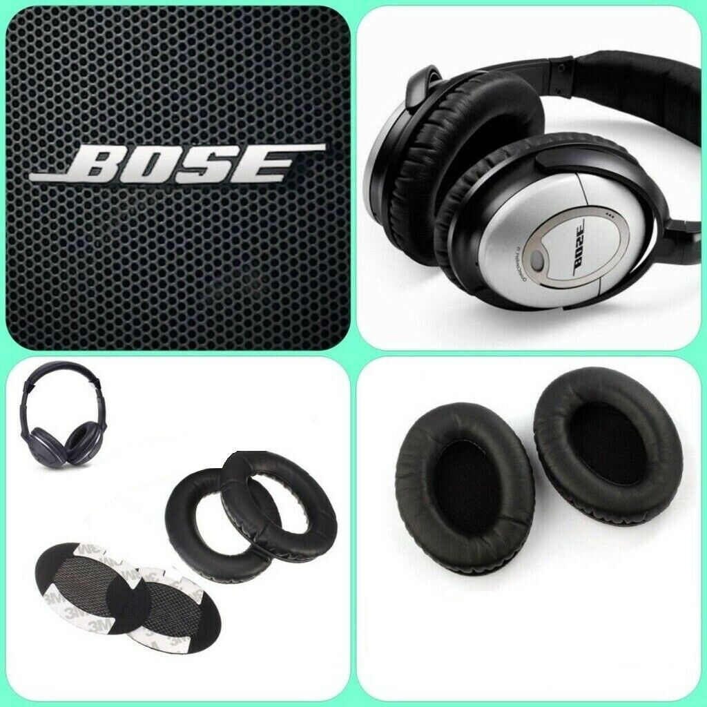 Replacement Ear Pads for BOSE QuietComfort QC2/QC15/QC25/QC3