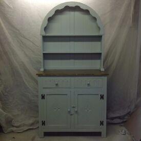 Dutch Dresser - Newly refurbished, painted.