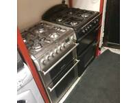 cannon gass cooker 60 wide ( mains gass hob electric oven )