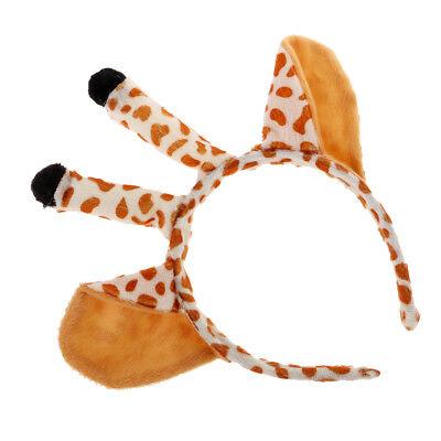 Giraffe Ears Headband Kids Animal Costume Halloween Cosplay Fancy Dress Up ()