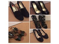 Shoes and sandals size 5