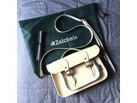 Satchel - Cream Small Zatchel Bag