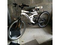 Brand new bike riden once
