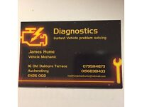 Diagnostic mobile mechanic