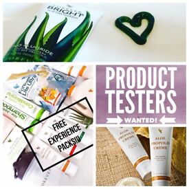 Looking for lovely local product testers!
