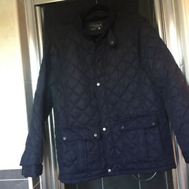 Men's quilted jacket navy