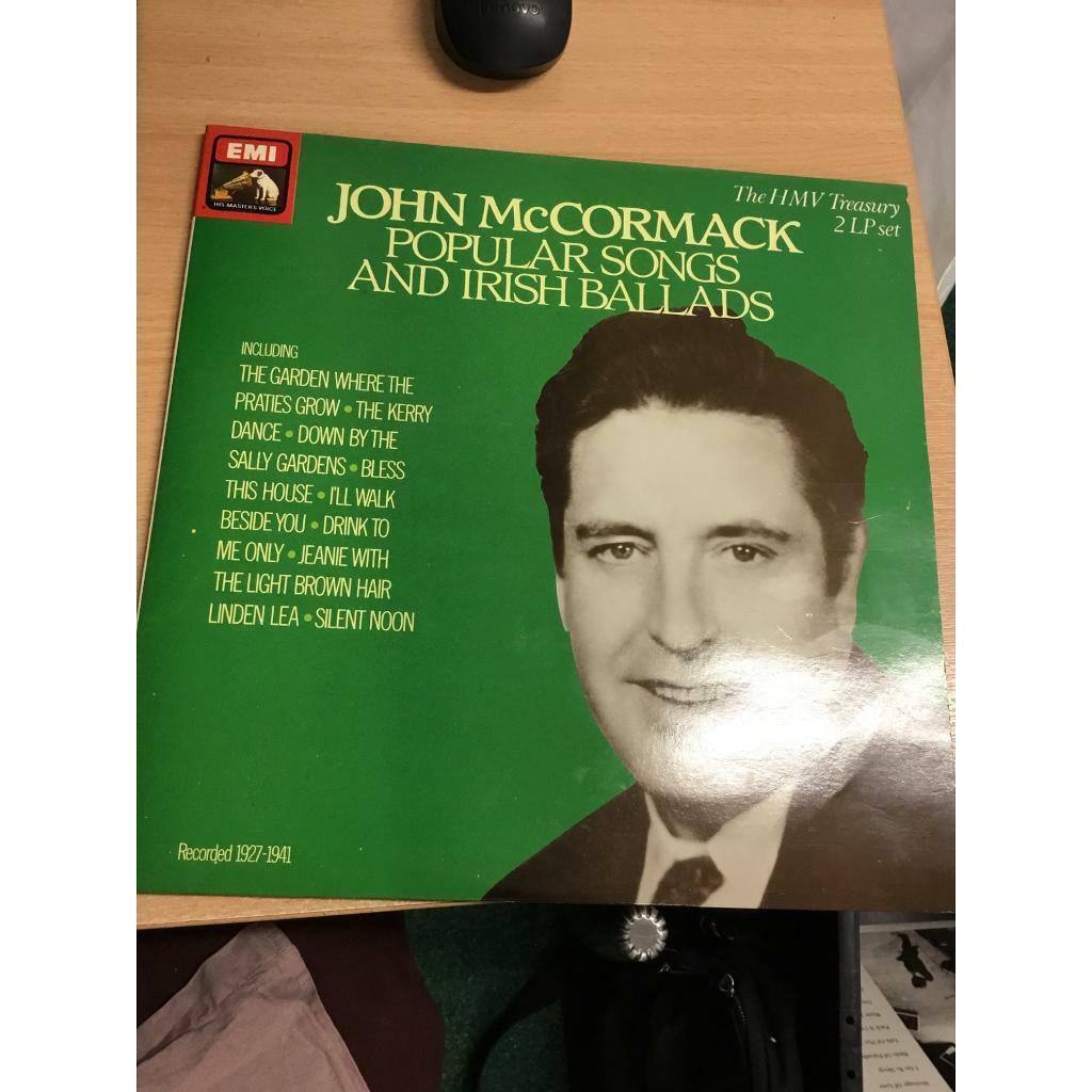 John McCormack Popular Songs and Irish Ballads Vinyl   in Blantyre, Glasgow    Gumtree