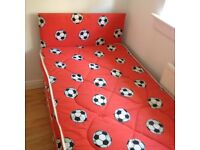 Childs football bed