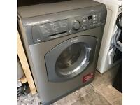 Hotpoint washer dryer in Silver WDF740 7KH