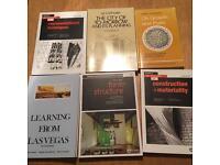 Architecture books, amazing condition - job lot
