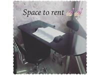 Salon in stretford nail tech / beauty therapist/ hair or makeup spaces to rent