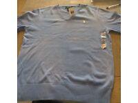 Polo Ralph Lauren light blue sweater boys extra large