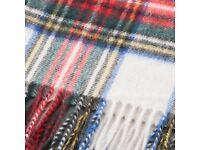 Cashmere Scottish scarf Mckenzie tartan