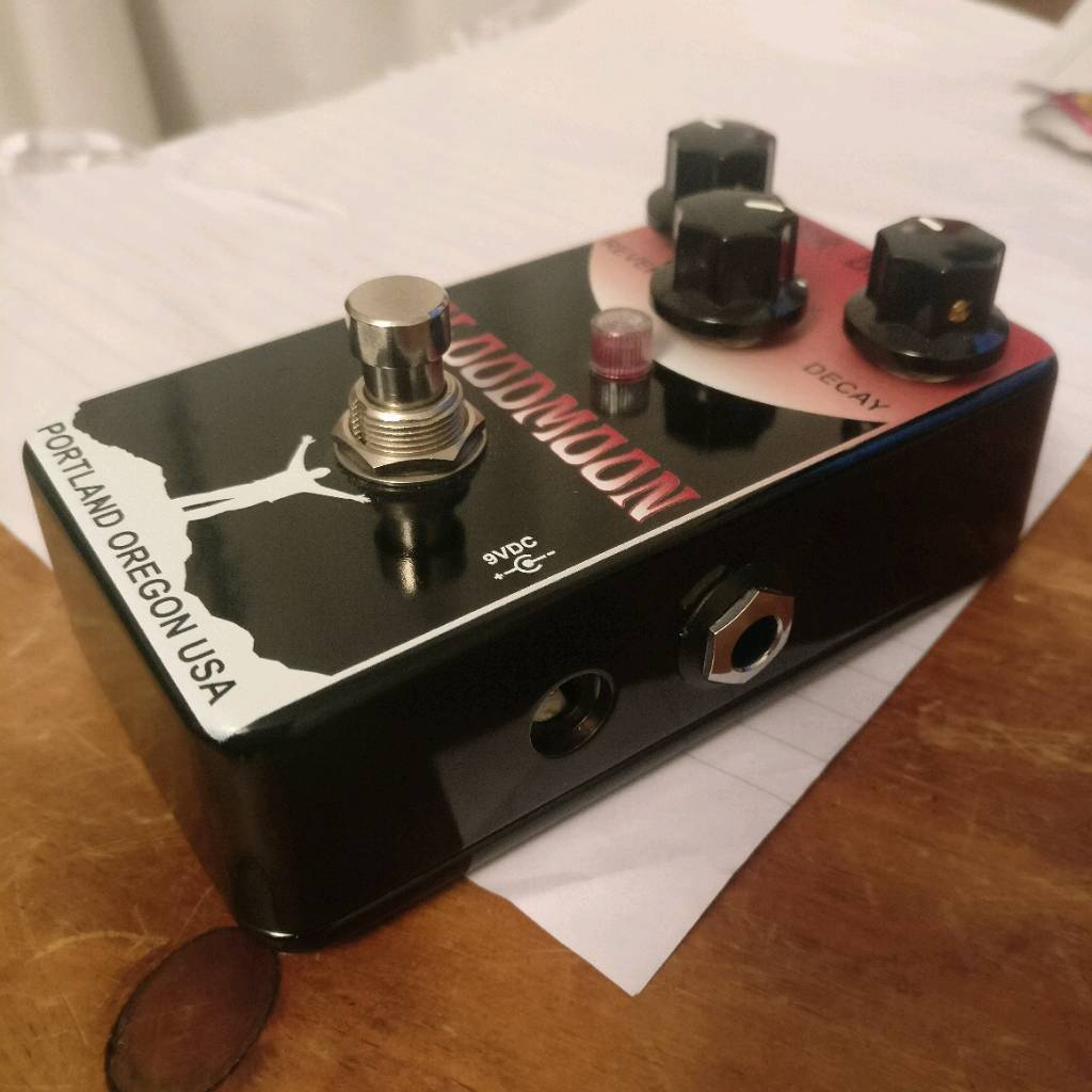 Mr Black Bloodmoon Guitar Effects Reverb Pedal Supermoon In Isle