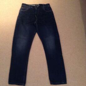Boys next plus fit denim jeans age 15