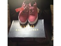 Ladies or Gents Ralph Lauren Shoes Brand New in Box were Bought in Sale Size 7