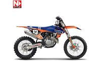 New KTM SX 85 13-17 Nstyle Troy lee Designs Graphics Sticker Kit NS 40-5724