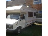 Talbot Express Highwayman camper/day van 4/6 berth, long mot, 4 new tyres