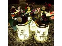 Fairy battery powered light up lanterns