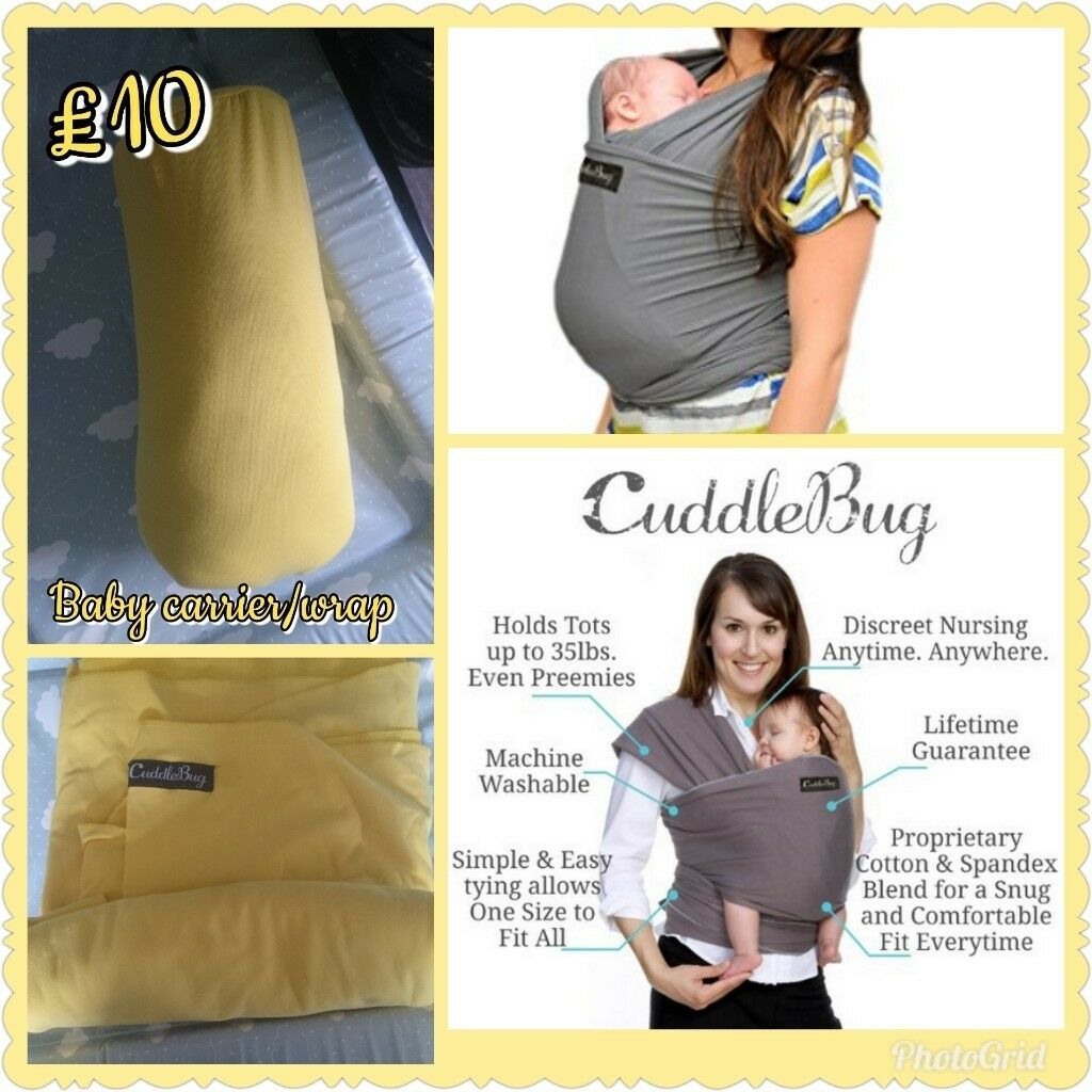 Cuddle Bug Wrap Carrier In Sheffield South Yorkshire Gumtree