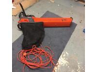 Flymo Electric Leaf Blower Vacuum