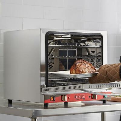 Avantco 12size Countertop Convection Oven Steam Injection 2.3 Cu 208240v 2800w