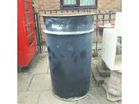 Large Oil drums suitable for fire bins .