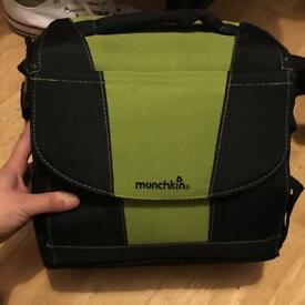 Munchkin travel booster chair